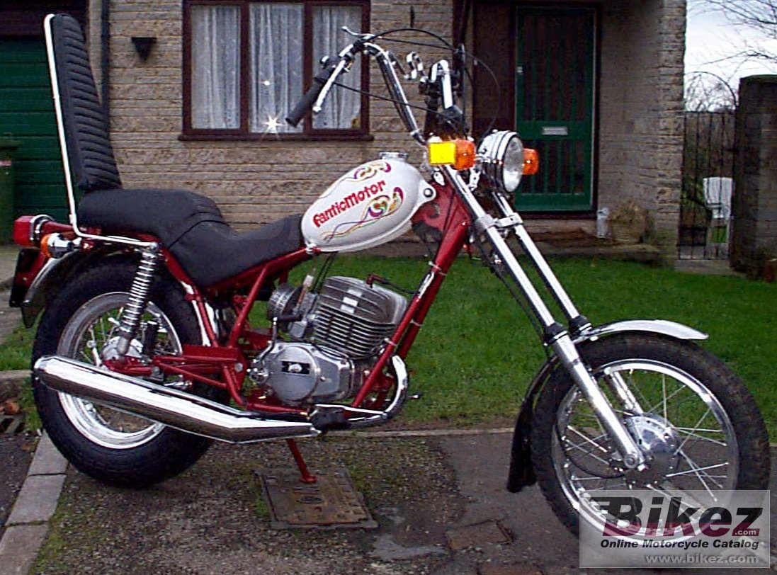 Fantic TX 141 Chopper
