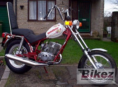 1974 Fantic TX 141 Chopper