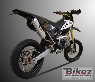 2008 Fantic Caballero Supersei Motard 50