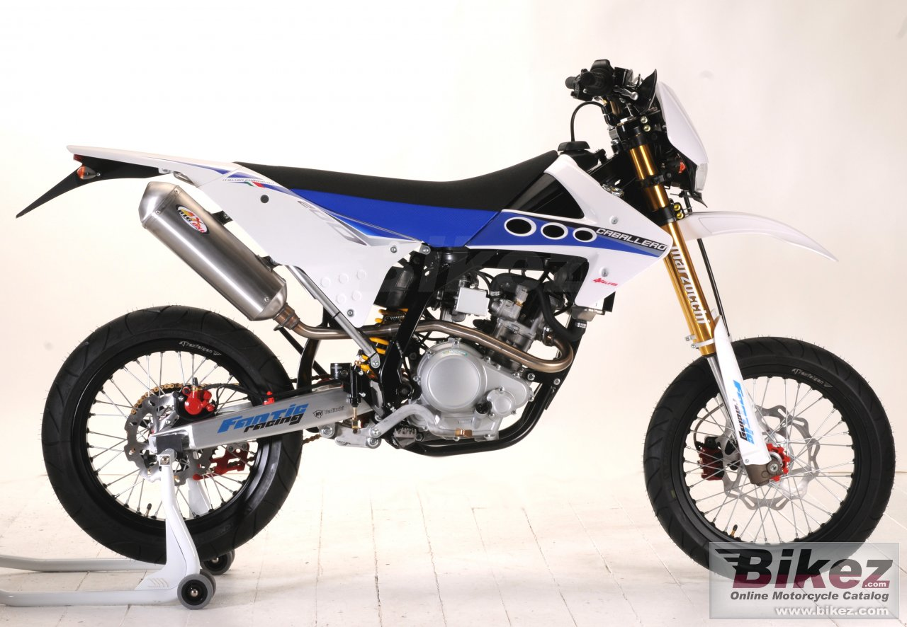 Big Fantic caballero motard 200 picture and wallpaper from Bikez.com