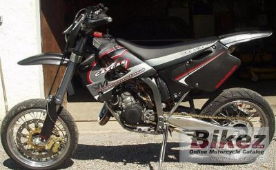 2002 GAS GAS SM 125 specifications and pictures