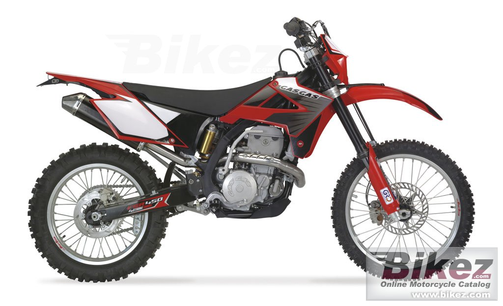 Big GAS GAS ec450 fsr picture and wallpaper from Bikez.com