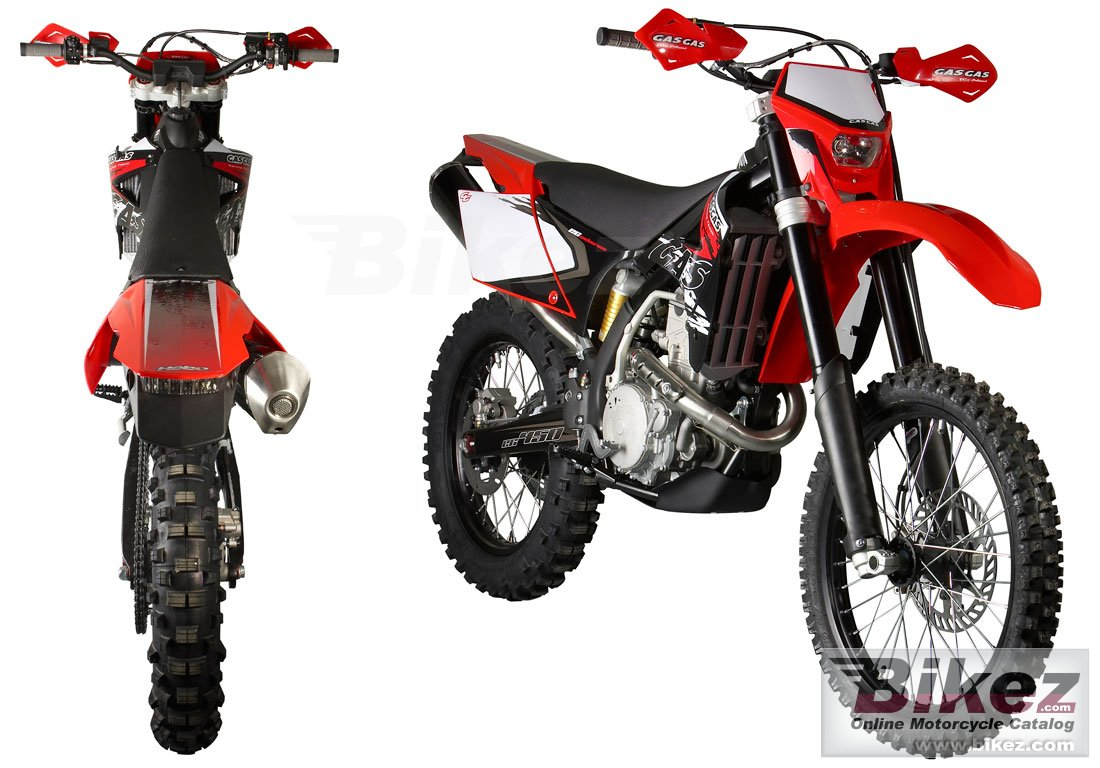 Big GAS GAS ec 450 fsr picture and wallpaper from Bikez.com