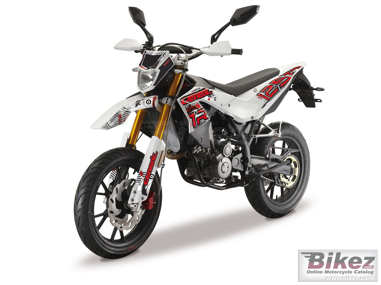 Big Generic tr 125 sm picture and wallpaper from Bikez.com