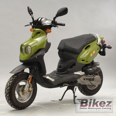 2009 Genuine Scooter Roughhouse R50 specifications and pictures