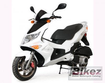 2010 Genuine Scooter Blur SS 220i