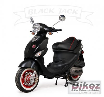 2011 Genuine Scooter Black Jack