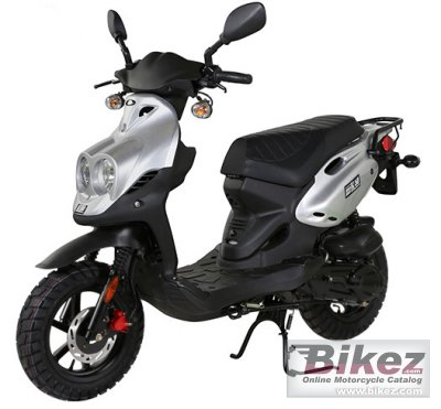 2020 Genuine Scooter Roughhouse 50