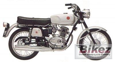 1970 Gilera 124 5V