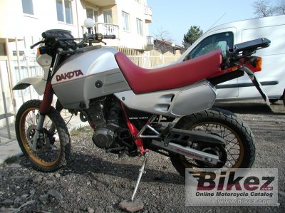 1988 Gilera 500 Dakota photo