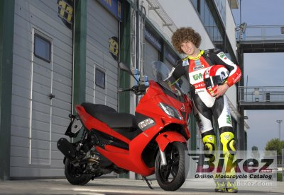 2009 Gilera Nexus 300 Simoncelli photo