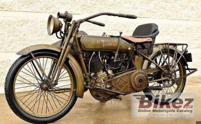 1918 Harley-Davidson 18J