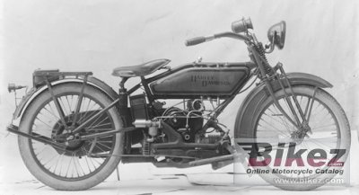 1919 Harley-Davidson Model W Sport Twin