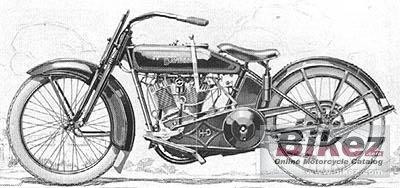 1924 Harley-Davidson Model FDCA