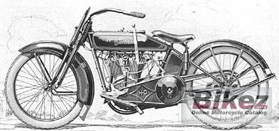 1925 Harley-Davidson Model FDCB