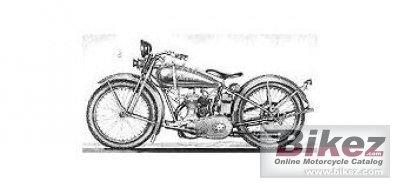 1927 Harley-Davidson Model B