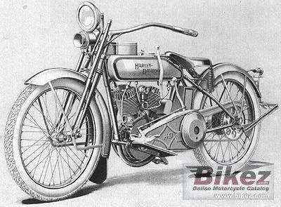 1927 Harley-Davidson Model JD