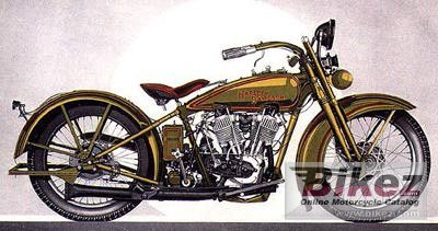 1929 Harley-Davidson Model JD