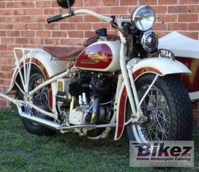 1934 Harley-Davidson Model VD