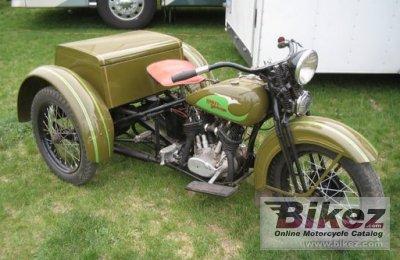 1936 Harley-Davidson Servi-Car GE
