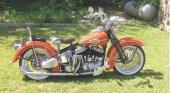 1942 Harley-Davidson Model WLA