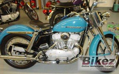1952 Harley-Davidson Model KK