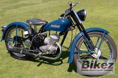 1952 Harley-Davidson S-125