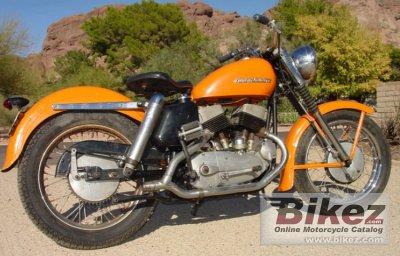 1954 Harley-Davidson Model KHK