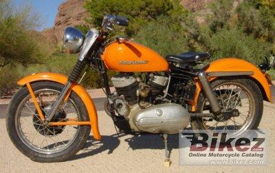 1955 Harley-Davidson Model KHK