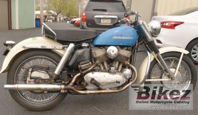1956 Harley-Davidson Model KH