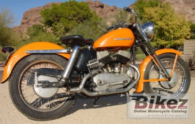 1956 Harley-Davidson Model KHK