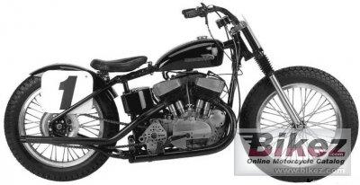 1957 Harley-Davidson KR 750