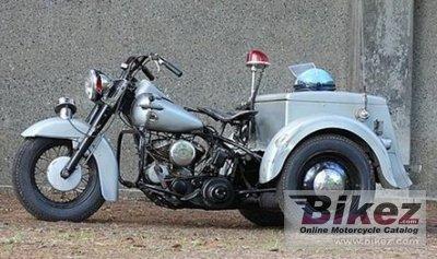 1957 Harley-Davidson Servi-Car GE