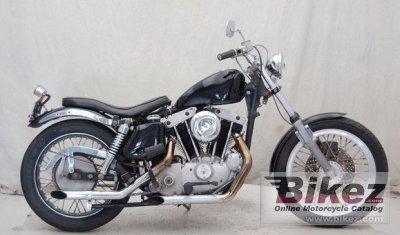 1958 Harley-Davidson XLCH Sportster