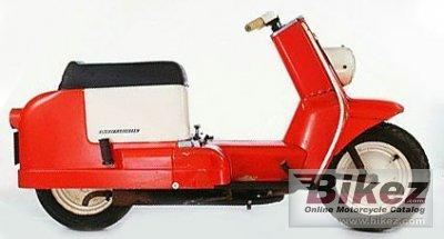 1961 Harley-Davidson AH Topper-Scooter