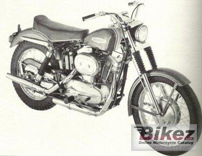 1962 Harley-Davidson Sportster XLCH