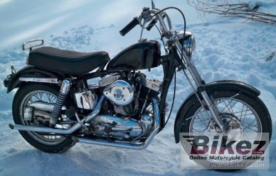 1963 Harley-Davidson XLCH