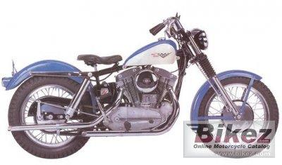1966 Harley-Davidson XLCH