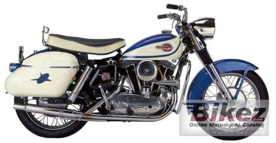 1967 Harley-Davidson XLH Sportster specifications and pictures
