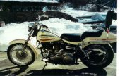 1971 Harley-Davidson FLH 1200 Super Glide photo