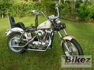 1971 Harley-Davidson XLCH 900 Sportster specifications and