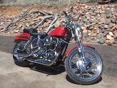 1972 Harley-Davidson XLH 1000 Sportster photo