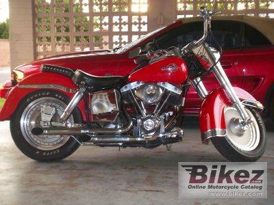 1973 Harley-Davidson FLH 1200 Super Glide photo