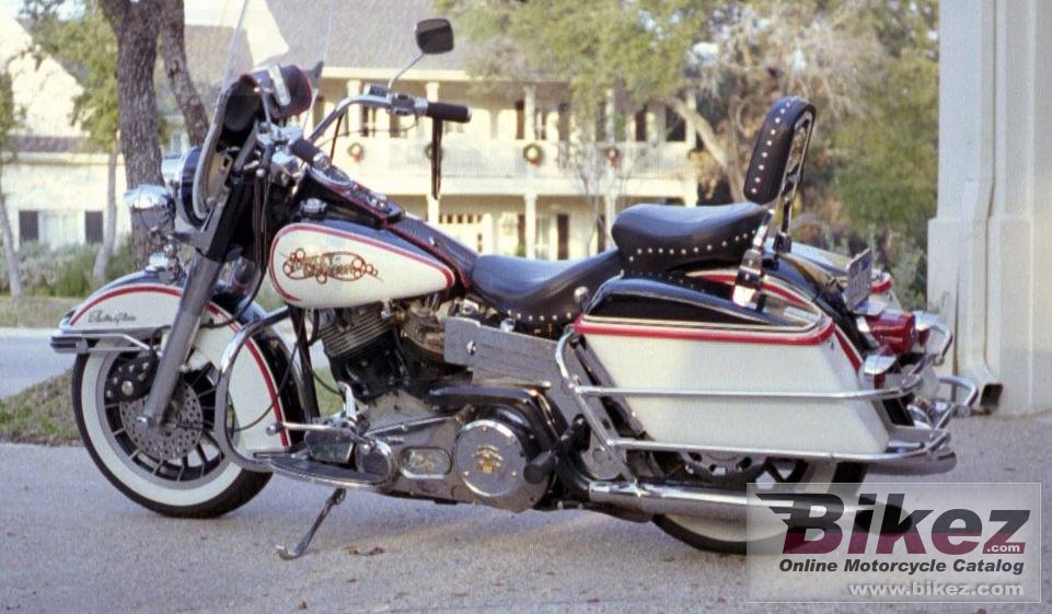 Charles Leadford flh 1200 electra glide