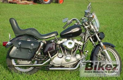 1975 Harley-Davidson XLH 1000 Sportster photo