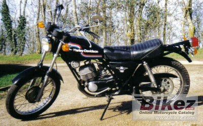 1976 Harley Davidson Ss 125 Specifications And Pictures