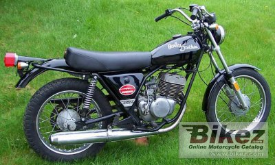 1976 Harley-Davidson SS 250 specifications and pictures