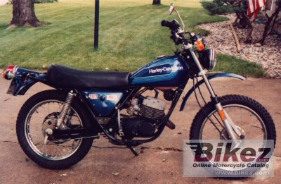1976 harley davidson sx 125 specifications and pictures. Black Bedroom Furniture Sets. Home Design Ideas