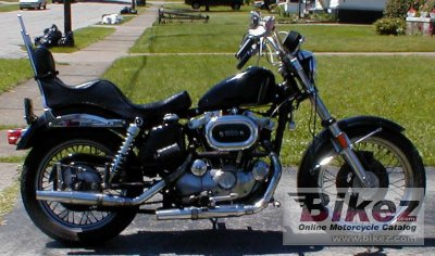 1976 Harley-Davidson XLCH 1000 Sportster specifications and
