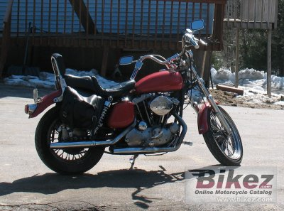 1977 Harley Davidson Xlh 1000 Sportster Specifications Pictures